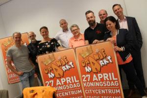 Organisatie Oranjemarkt 2018