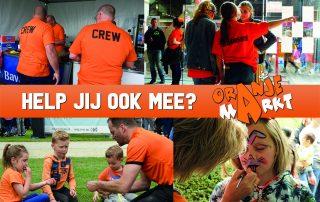 Oranjemarkt Veldhoven_vrijwilligers gezocht