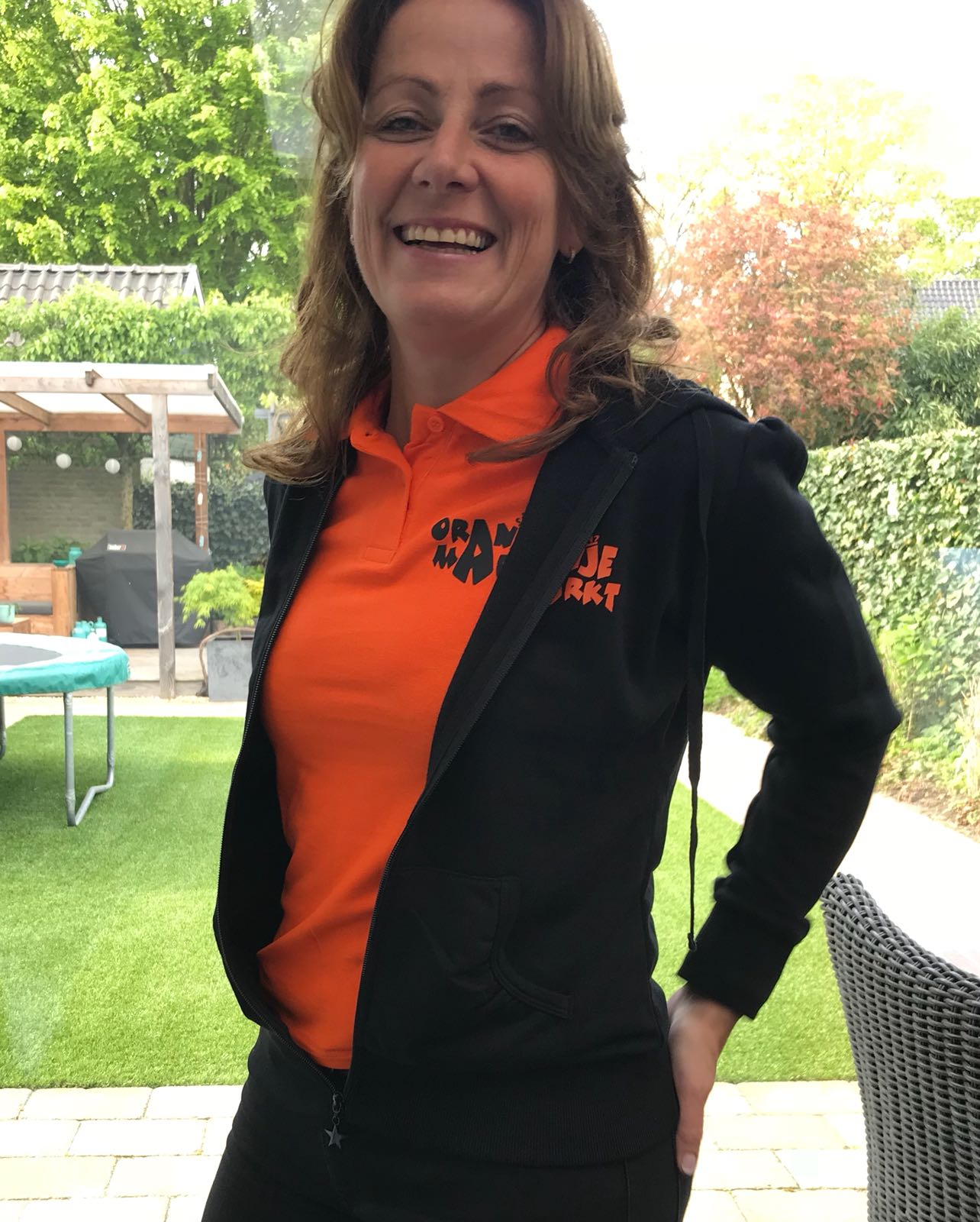 kristel Gijsbers-Voets_Voorzitter Oranjemarkt Veldhoven