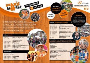 Programma Oranjemarkt Veldhoven 2019