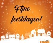 Oranjemarkt Veldhoven_Fijne feestdagen