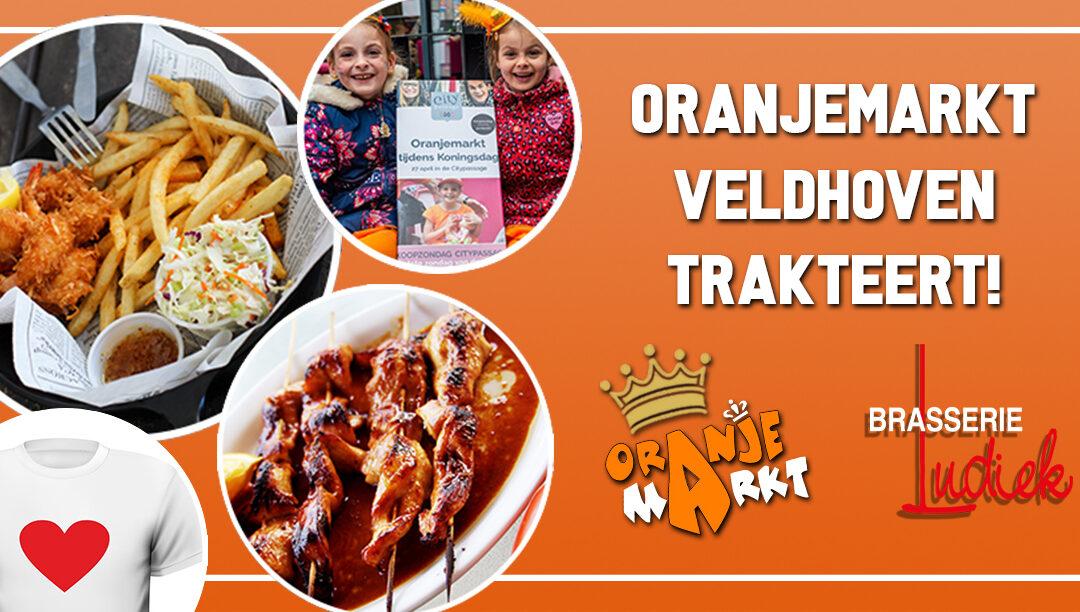 Facebook actie: Oranjemarkt Veldhoven trakteert op Koningsdag!