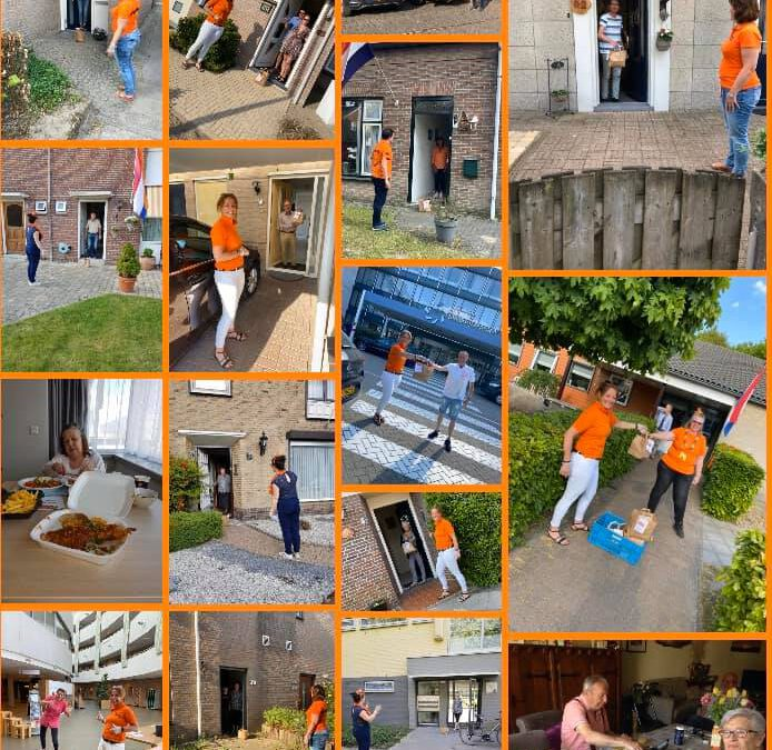Oranjemarkt Veldhoven_ actie Koningsdag_2020