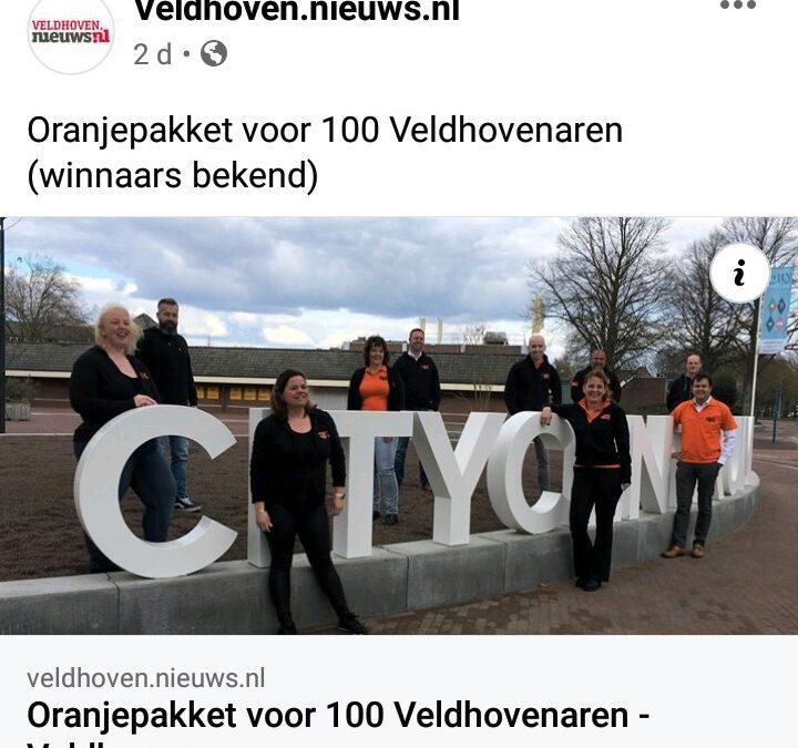 Oranjepakket voor 100 Veldhovenaren